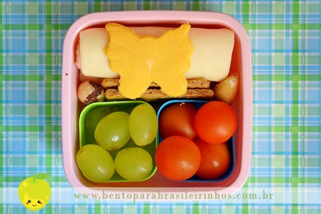 marmita com borboleta de queijo